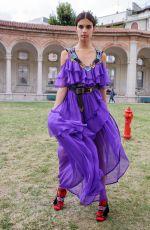SARA SAMPAIO at Aberta Ferretti Fashion Show in Milan 09/21/2016