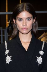 SARA SAMPAIO at Francesco Scognamiglio Fashion Show in Milan 09/21/2016
