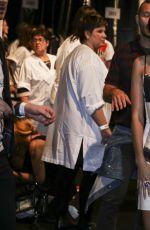 SARA SAMPAIO at Moschino Fashion Show at Milan Fashion Week 09/22/2016