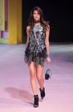 SARA SAMPAIO on the Runway of Philipp Plein's Fashion Show in Milan 09/21/2016