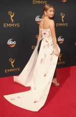 SARAH HYLAND at 68th Annual Primetime Emmy Awards in Los Angeles 09/18/2016