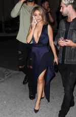 SARAH HYLAND at Bootsy Bellows in West Hollywood 09/23/2016