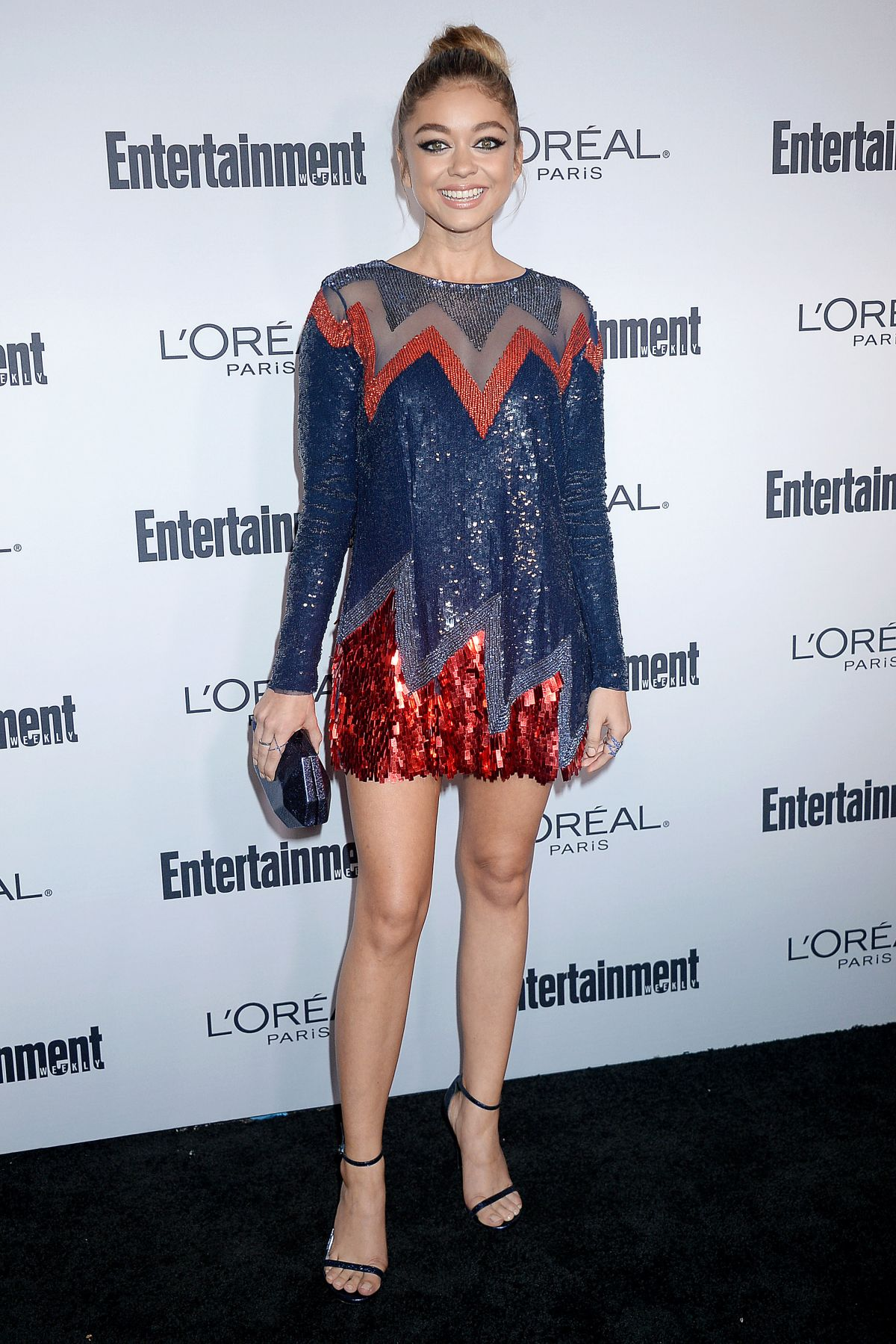 SARAH HYLAND at Entertainment Weekly 2016 Pre-emmy Party in Los Angeles 09/16/2016