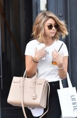SARAH HYLAND Leaves a Salon in West Hollywood 09/14/2016