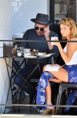SARAH HYLAND Out for Lunch in Studio City 09/18/2016