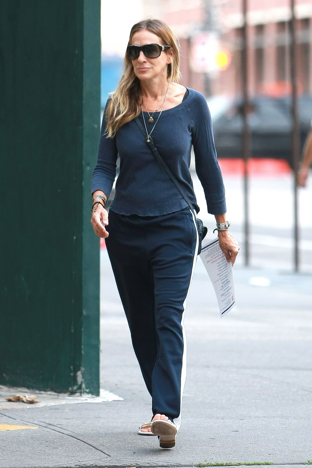 SARAH JESSICA PARKER Out and About in New York 09/07/2016