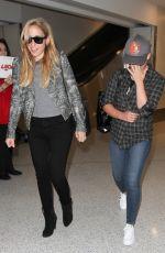 SARAH MICHELLE GELLAR at LAX Airport in Los Angeles 09/01/2016