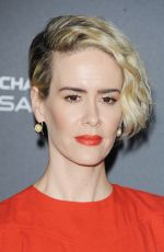 SARAH PAULSON at Television Academy Reception for Emmy Nominees in West Hollywood 09/16/2016