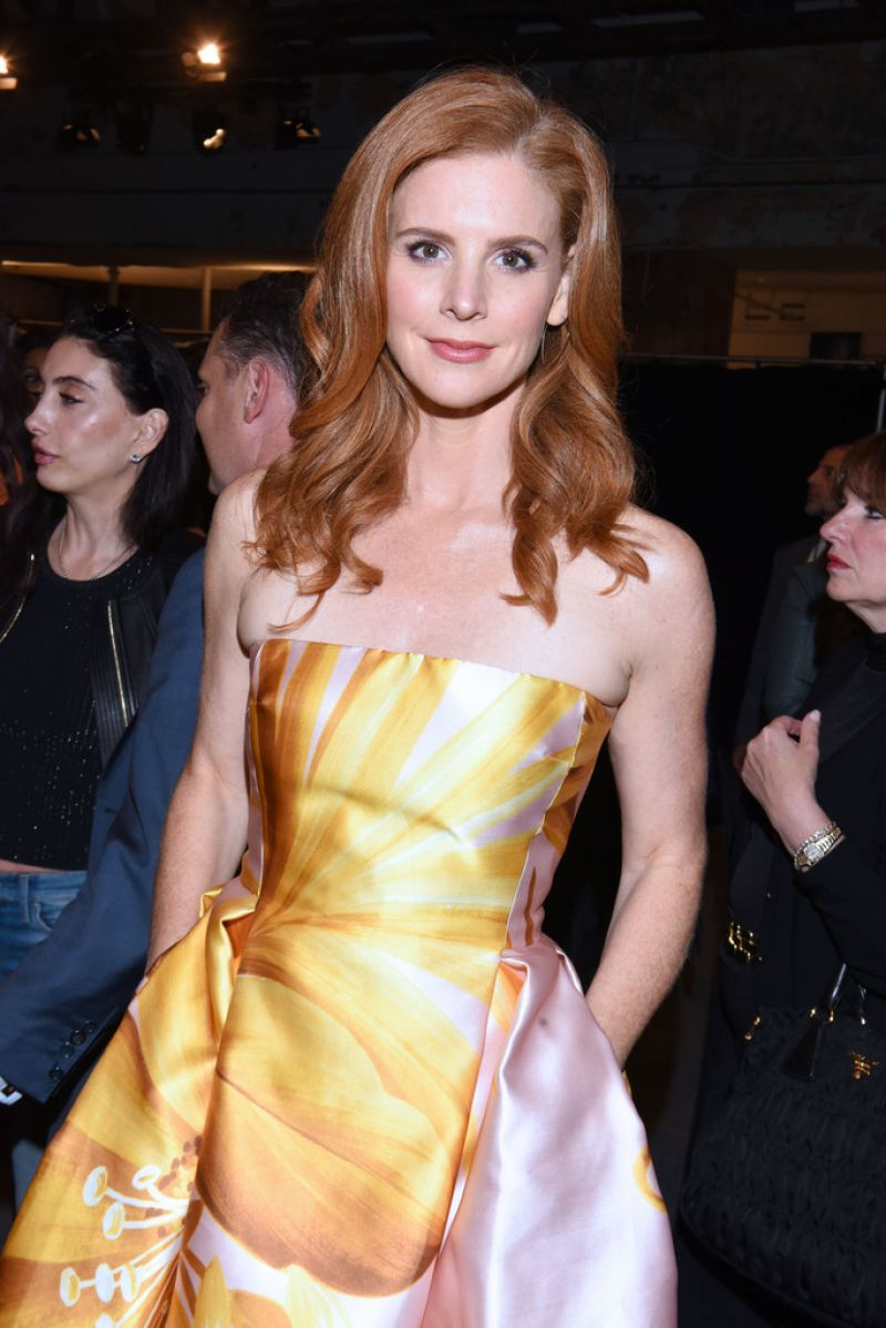 SARAH RAFFERTY at Dennis Basso Fashion Show at New York Fashion Week 09/13/2016
