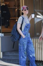 SARAH SILVERMAN Out for Coffee in Los Angeles 09/01/2016