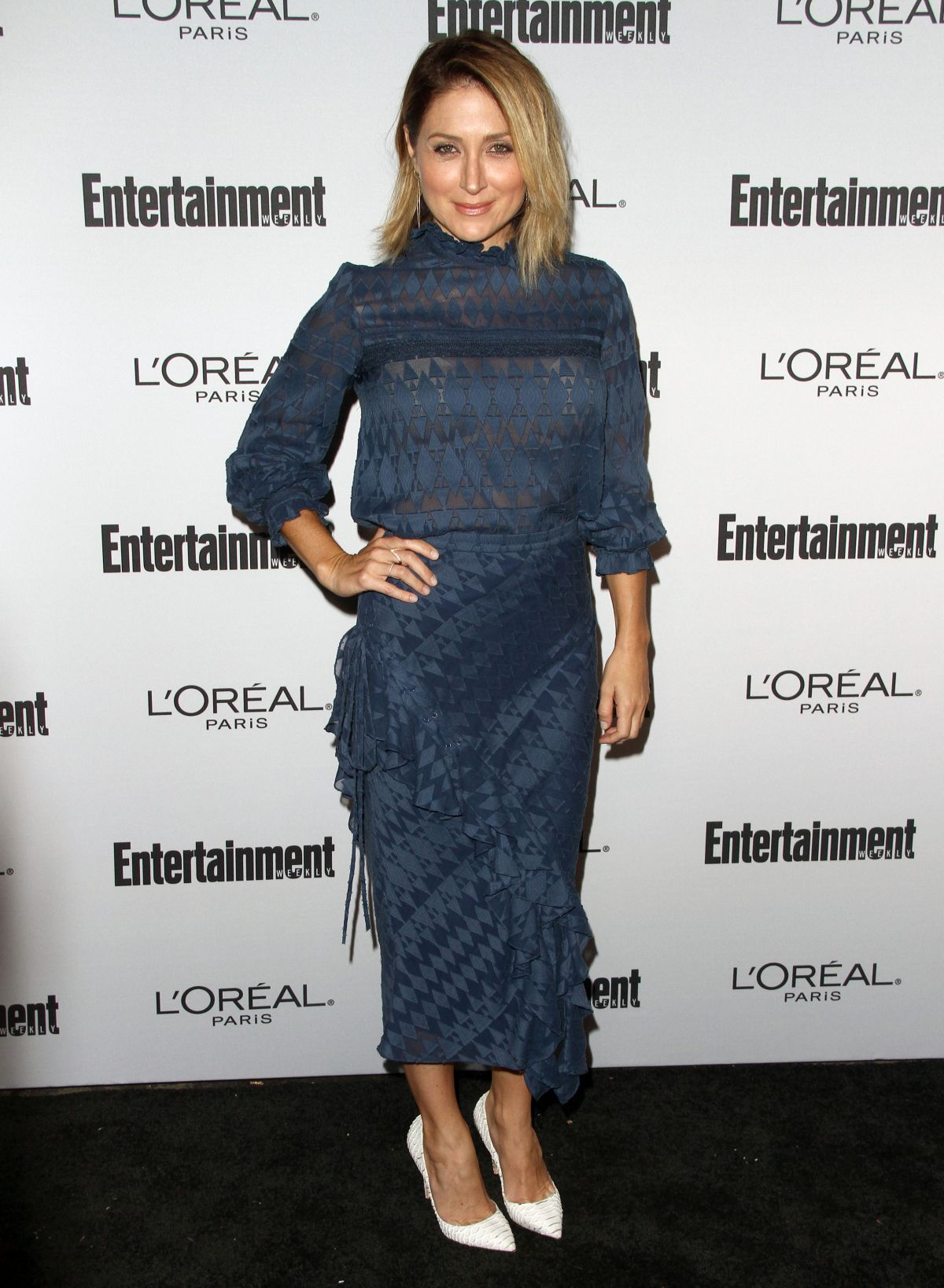 SASHA ALEXANDER at Entertainment Weekly 2016 Pre-emmy Party in Los Angeles 09/16/2016