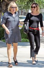 SASHA ALEXANDER Out Shopping in Beverly Hills 08/31/2016