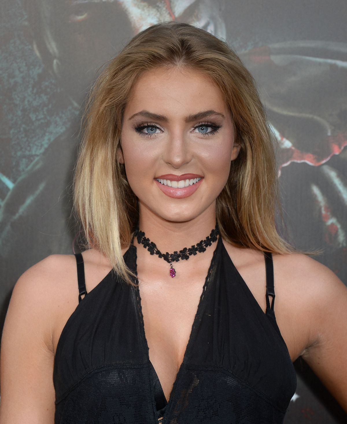 SAXON SHARBINO at Halloween Horror Nights Opening in Universal City 09/16/2016