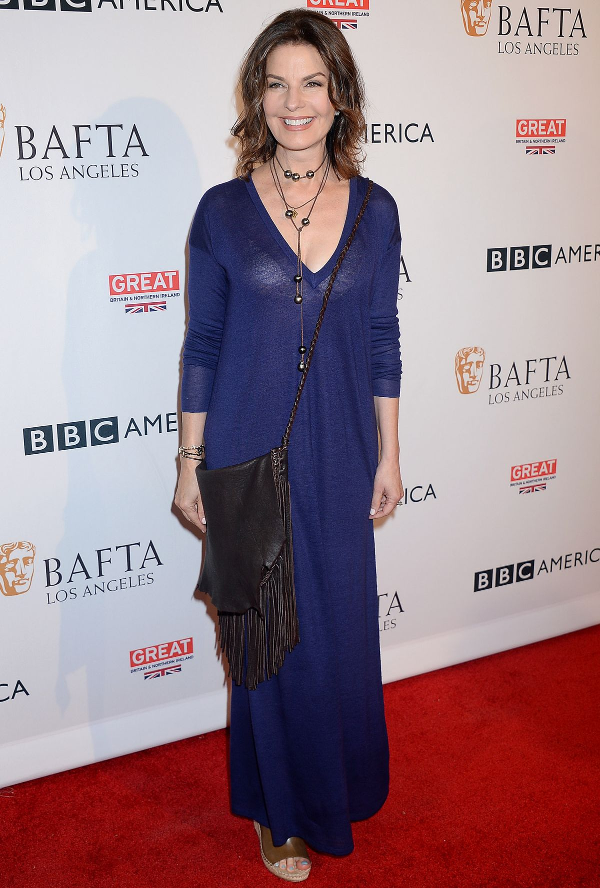 SELA WARD at BBC America Bafta Los Angeles TV Tea Party 2016 in West Hollywood 09/17/2016