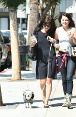 SELMA BLAIR Out and About in Los Angeles 09/21/2016