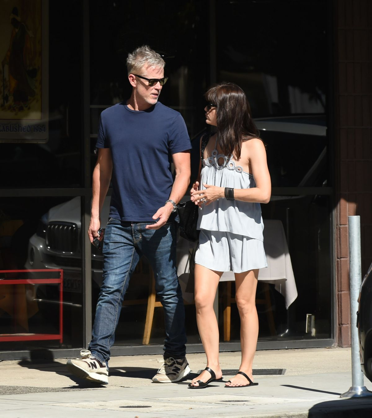 SELMA BLAIR Out for Coffee with a Friend in Los Angeles 09/24/2016