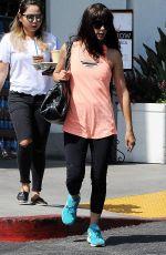 SELMA BLAIR Shopping at Bristol Farms in Beverly Hills 09/22/2016