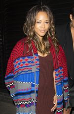 SERAYAH MCNEILL at Chiltern Firehouse in London 09/21/2016