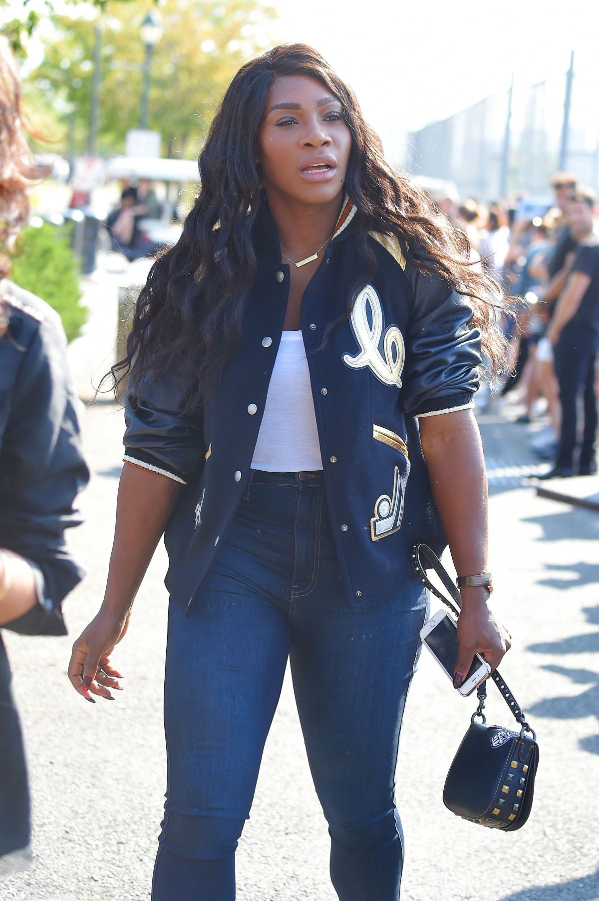 SERENA WILLIAMS Arrives at Coach 1941 Fashion Show in New York 09/13/2016