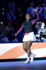 SERENA WILLIAMS at Dojokovic & Friends Tennis Event in Milan 09/21/2016