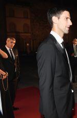 SERENA WILLIAMS at Novak Djokovic Foundation Gala Dinner in Milan 09/20/2016