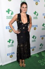 SHAILENE WOODLEY at Global Green 20th Anniversary Awards in Los Angeles 09/29/2016
