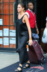 SHAILENE WOODLEY Leaves Bowery Hotel in New York 09/15/2016