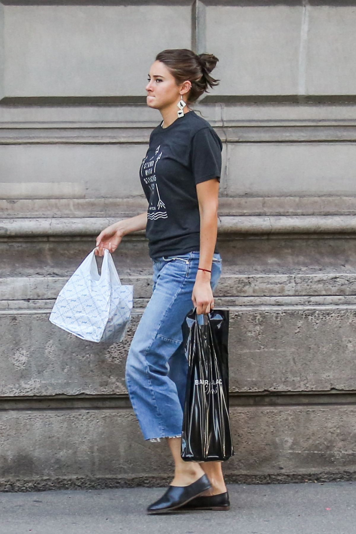 SHAILENE WOODLEY Out and About in Zurich 09/27/2016