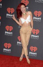 SHARNA BURGESS at 2016 IhearRradio Music Festival in Las Vegas 09/23/2016