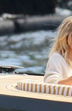 SIENNA MILLER at a Boat in Antibes 09/23/2016