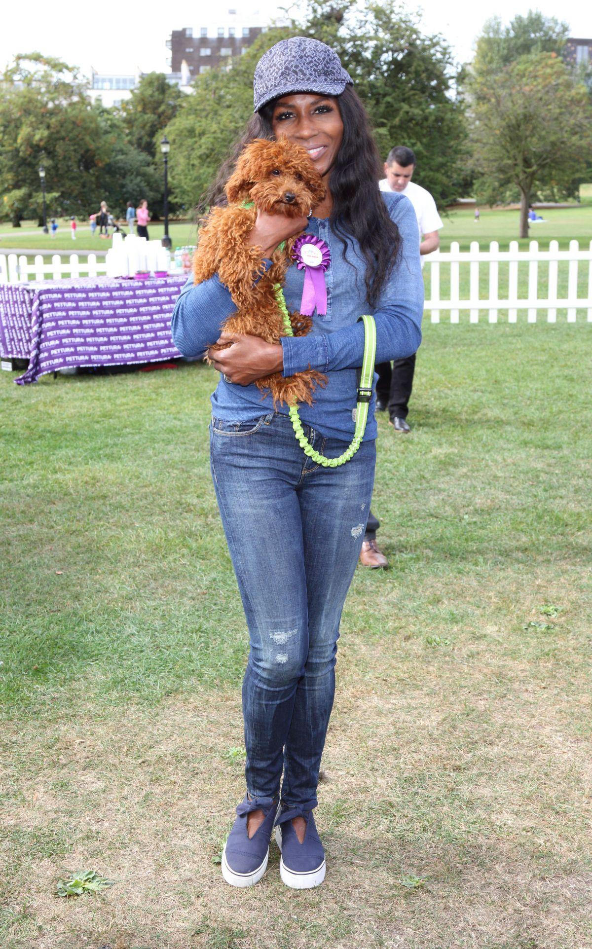 SINITTA at Pupaid Anti-puppy Farming Event in Primrose Hill 09/03/2016