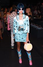 SITA ABELLAN at Jeremy Scott Fashion Show at New York Fashion Week 09/12/2016