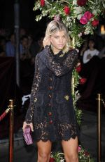SOFIA RICHIE at Dolce & Gabbana Boutique Opening in Milan 09/25/2016