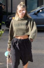 SOFIA RICHIE Shopping at Barneys New York in Beverly Hills 09/13/2016
