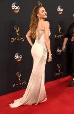 SOFIA VERGARA at 68th Annual Primetime Emmy Awards in Los Angeles 09/18/2016