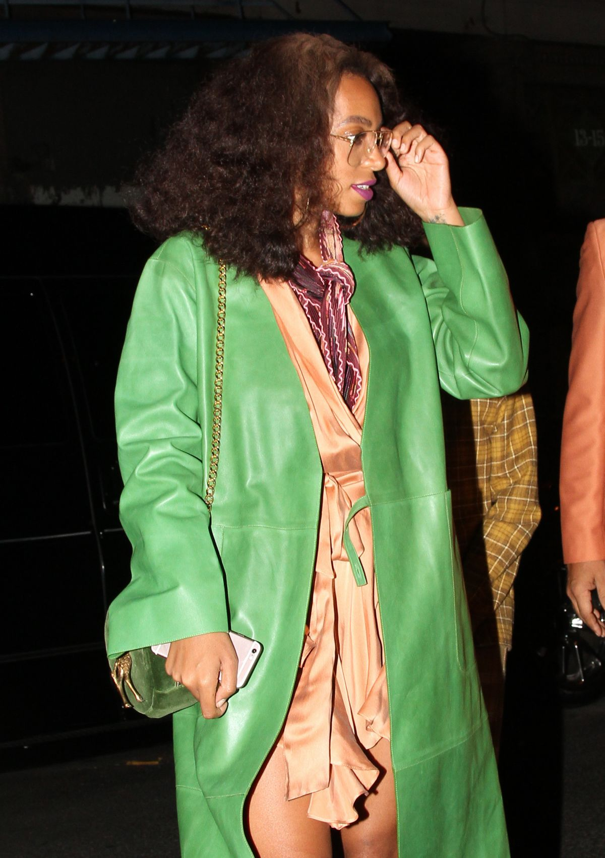 SOLANGE KNOWLES at Beyonce's Birthday Party in New York 09/05/2016