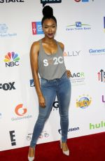 SONEQUA MARTIN GREEN at 5th Biennial Stand Up To Cancer in Los Angeles 09/09/2016