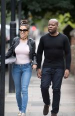 SOPHIE GRADON at Dr Trijon Esho Out in Newcastle 09/01/2016