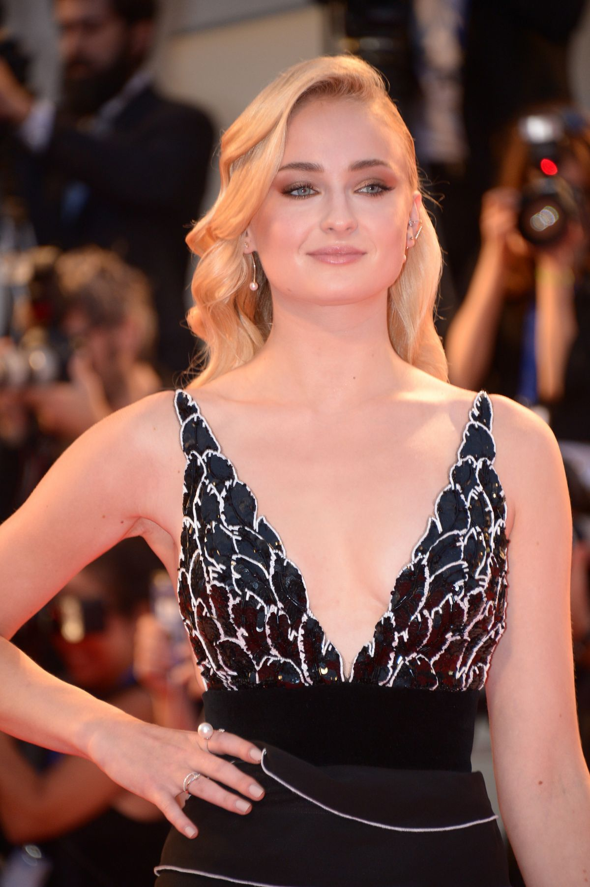 SOPHIE TURNER at Kineo Diamanti Award Ceremony at 2016 Venice Film Festival 09/04/2016