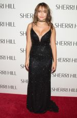 STELLA HUDGENS at Sherri Hill Fashion Show at New York Fashion Week 09/12/2016