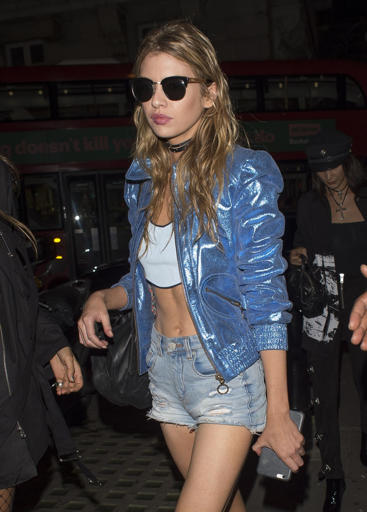 STELLA MAXWELL Night Out in London 09/18/2016