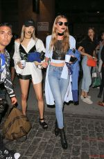 STELLA MAXWELL Night Out in New York 09/12/2016