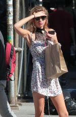 STELLA MAXWELL Out and About in New York 09/07/2016