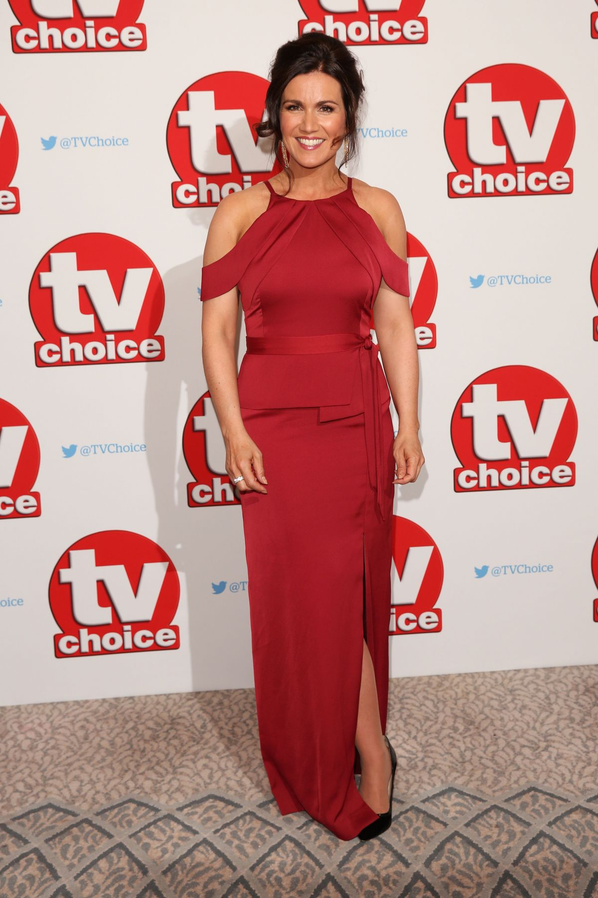SUSANNA REID at TV Choice Awards in London 09/05/2016