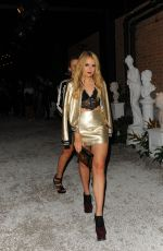 TALLIA STORM at Burberry and Dazed Cover Launch Party in London 09/20/2016