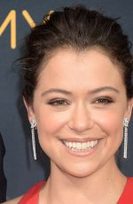 TATIANA MASLANY at 68th Annual Primetime Emmy Awards in Los Angeles 09/18/2016