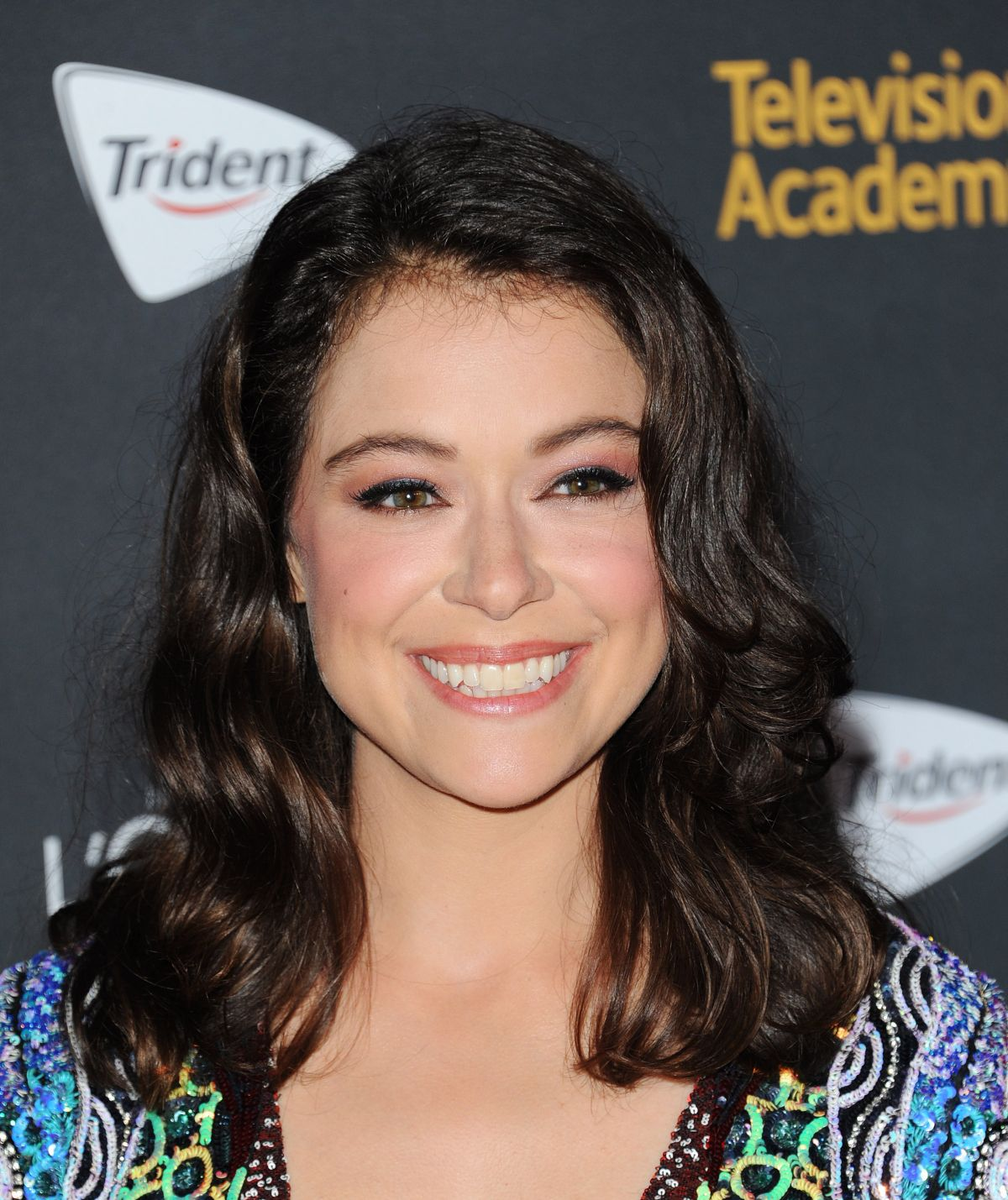 TATIANA MASLANY at Television Academy Reception for Emmy Nominees in West Hollywood 09/16/2016