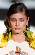 TAYLOR HILL at Dsquared2 Spring/Summer 2017 Fashion Show at Milan Fashion Week