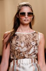 TAYLOR HILL on the Runway at Fendi Fashion Show in Milan 09/22/2016