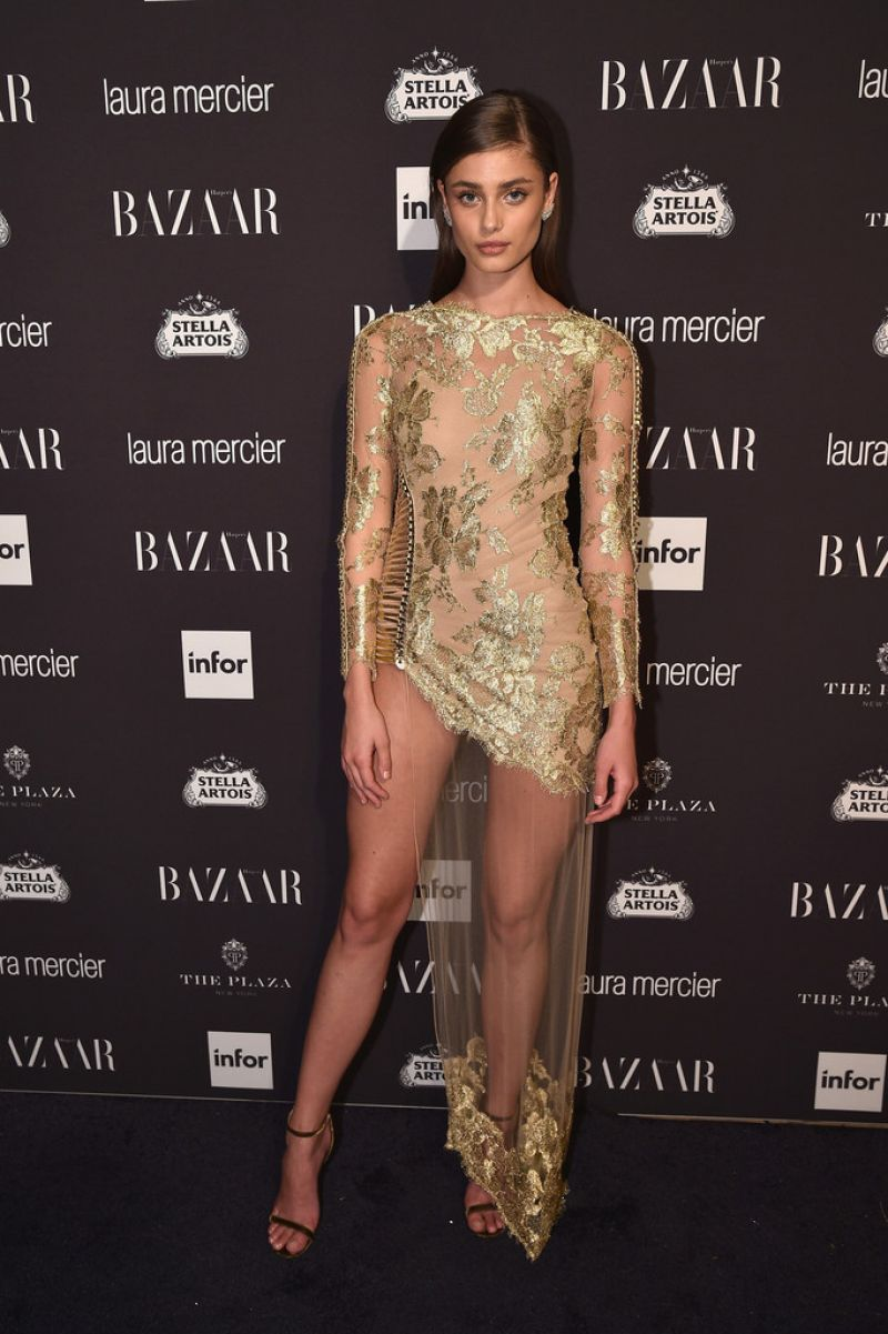 TAYLOR MARIE HILL at Harper's Bazaar Celebrates Icons by Carine Roitfeld in New York 09/09/2016